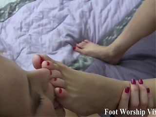 I need my perfect feet massaged and licked daily