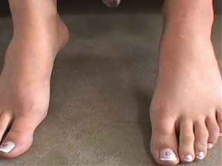 Kimberley nylons and foot fetish